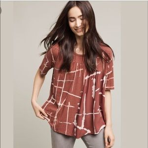 Anthropologie Akemi and Kin Light Streaks Tee